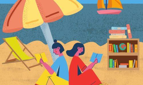 Du 13 juillet au 28 août : Le Chalet «Lire à la Mer»