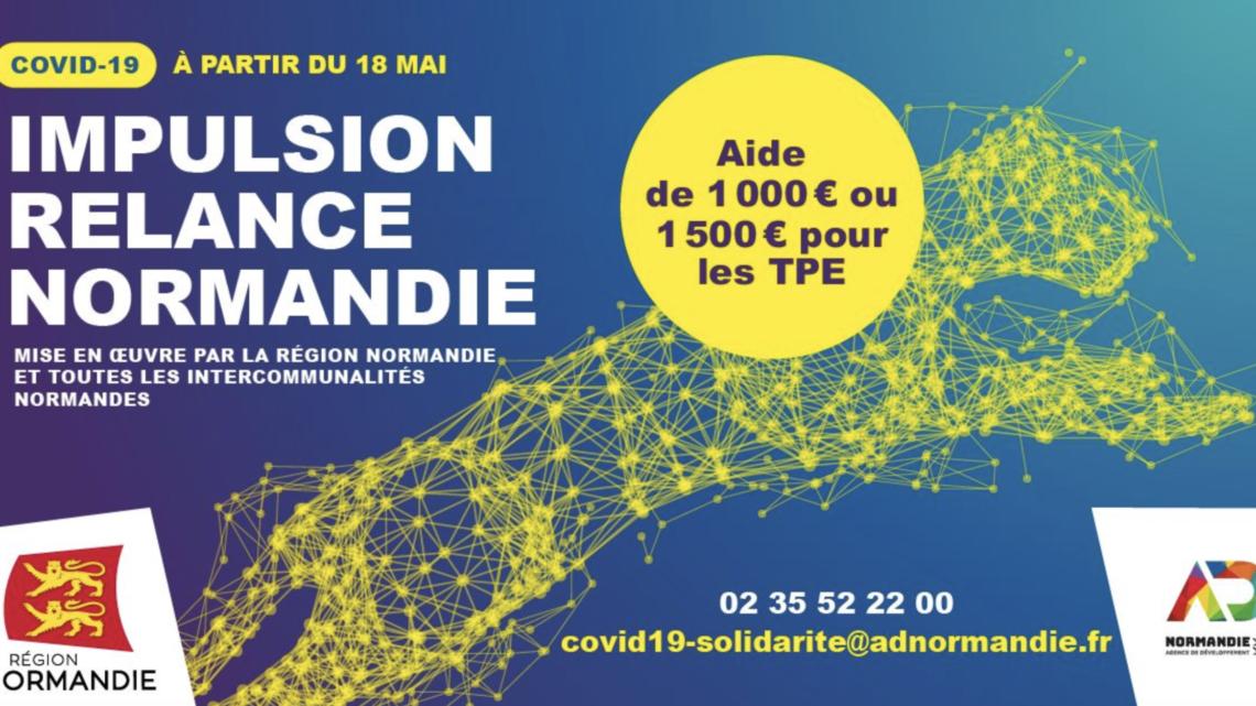 Ouverture de la plateforme Impulsion Relance Normandie
