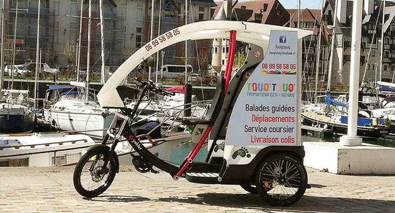 Vélo Taxi – Touq'Touq