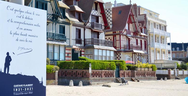 Trouville-sur-Mer célèbre Flaubert