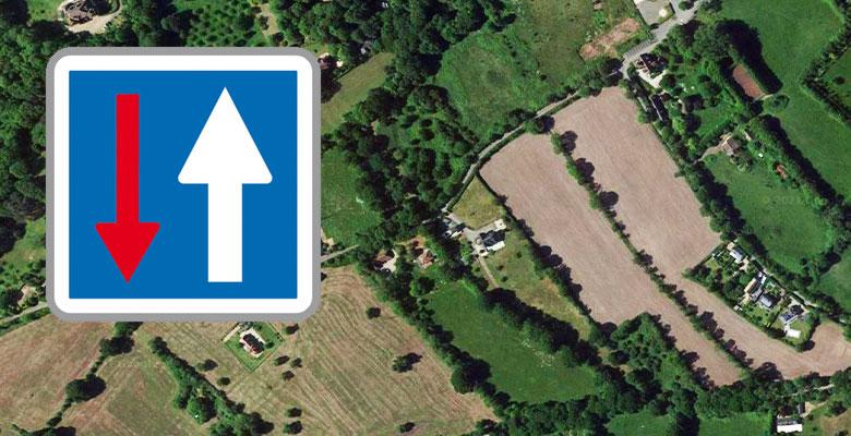 Circulation à double sens – Chemin des Bruzettes et Chemin des Frémonts