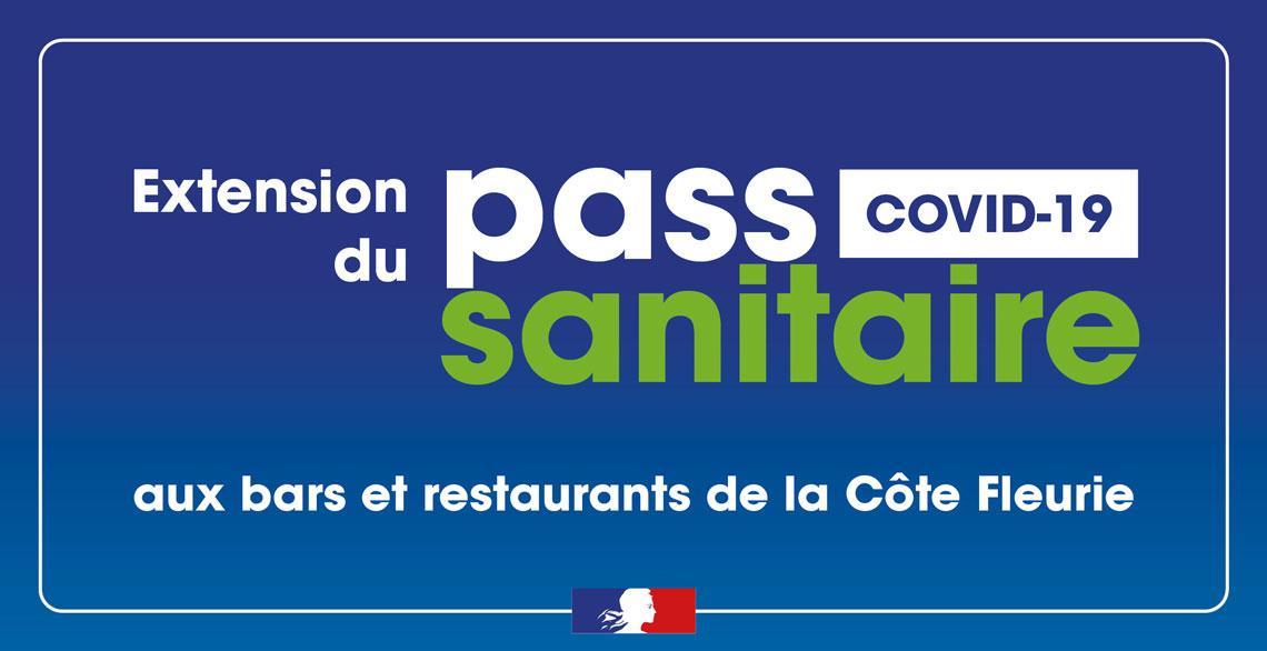 Expérimentation volontaire du pass sanitaire dans les bars et restaurants de la Côte Fleurie