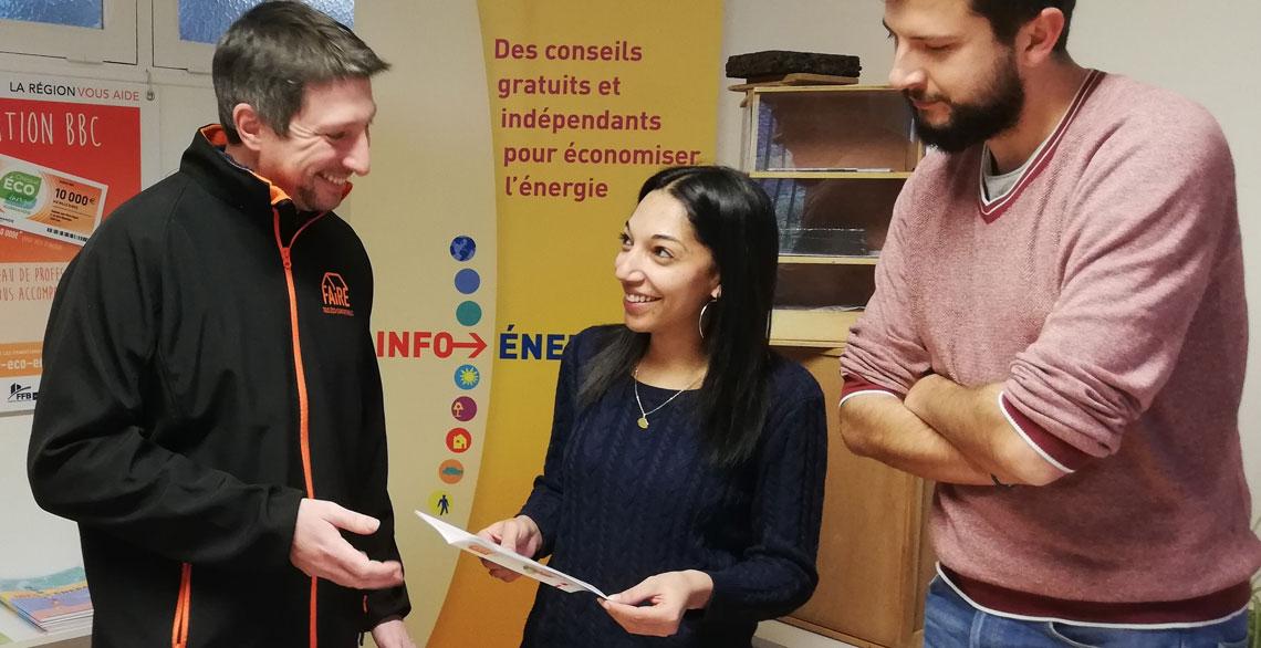 Des conseils gratuits et indépendants pour économiser l'énergie