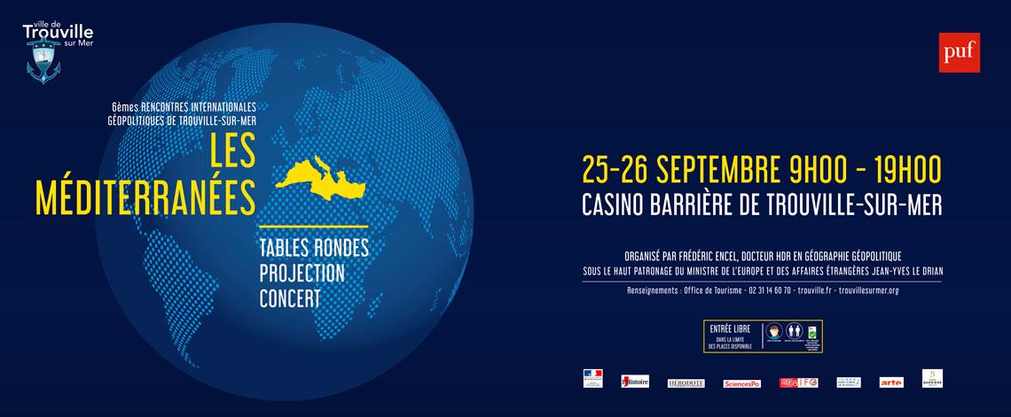 6èmes Rencontres Internationales Géopolitiques de Trouville-sur-Mer