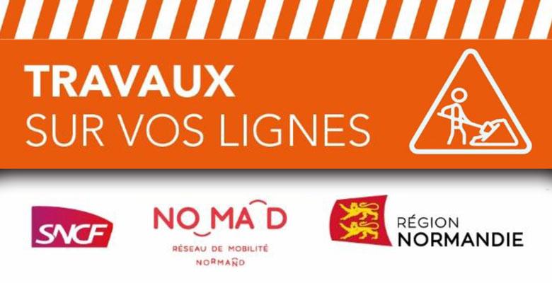 SNCF Voyageurs – Interruption des circulations sur Paris-Caen-Cherbourg…